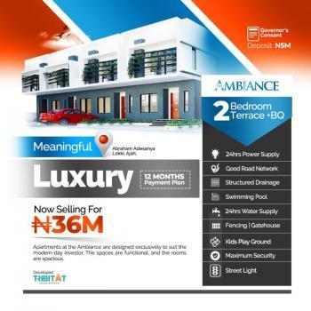 Luxury 2 Bedroom Terraced Duplex Plus Bq, The Ambiance, Abraham Adesanya, Ajah, Lagos, Terraced Duplex for Sale