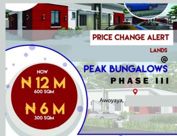 Estate Land, Oribanwa, Awoyaya, Ibeju Lekki, Lagos, Residential Land for Sale