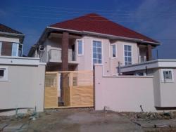 Massive Four Bedroom Semi Detached, Chevy View Estate, Lekki, Lagos, 4 bedroom, 5 toilets, 4 baths Semi-detached Duplex for Rent