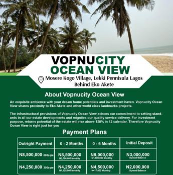 Estate Land, Behind Eko Akete, Sangotedo, Ajah, Lagos, Mixed-use Land for Sale