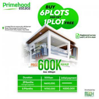 Plots of Land, Primehood, Akanran, Ona Ara, Oyo, Residential Land for Sale