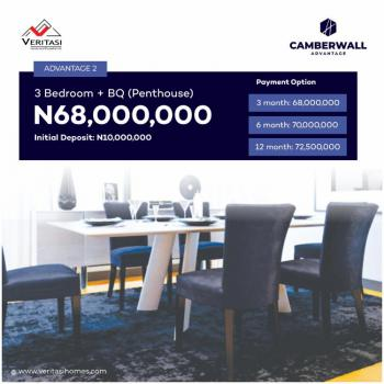 3 Bedrooms Apartment with Penthouse, Ikate, Lekki, Lagos, House for Sale