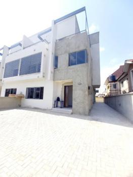 Brand New 4 Bedroom Semidetached House with a Room Maids Quarter, Lekki Phase 1, Lekki, Lagos, Semi-detached Duplex for Rent