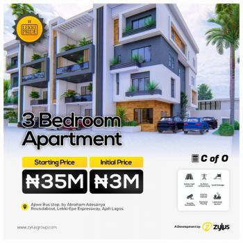 3 Bedroom, Ajiwe Bus Stop, By Abraham Adesanya Roundabout Lekki Pride Estates, Ajiwe, Ajah, Lagos, Block of Flats for Sale