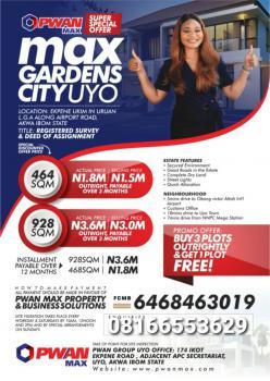 Max Gardens Estate, Uyo, Akwa Ibom, Mixed-use Land for Sale