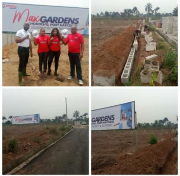Max Gardens Estate, Chokocho, Port Harcourt, Rivers, Mixed-use Land for Sale