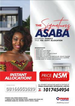The Signatures Estate, Asaba, Delta, Mixed-use Land for Sale