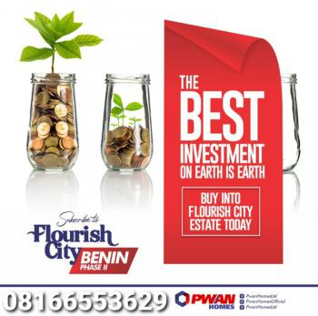 Land, Flourish City Estate, Benin, Oredo, Edo, Mixed-use Land for Sale