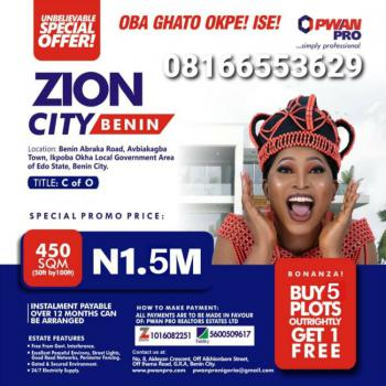 Land, Zion Gardens Estate, Benin, Oredo, Edo, Mixed-use Land for Sale
