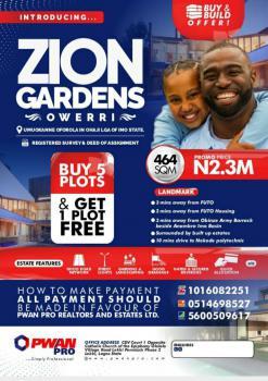 Land, Zion Gardens Estate, Warri, Delta, Mixed-use Land for Sale