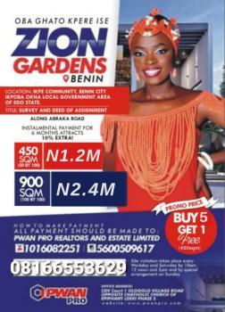 Land, Zion Gardens, Benin, Oredo, Edo, Mixed-use Land for Sale