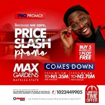 Land, Max Gardens Estate, Yenagoa, Bayelsa, Mixed-use Land for Sale