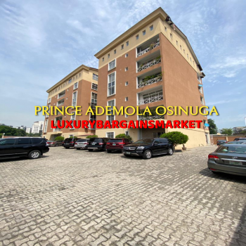 Executive & Affordable Centrally Located 3 Bedrooms Apartment + Bq + Pool, Old Ikoyi, Ikoyi, Lagos, Flat for Rent