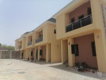 4 Units of Terrace Duplex for Cooperate Organizations, Jahi, Abuja, Terraced Duplex for Rent