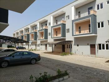 Brand New and Serviced 4 Bedrooms Terraced Duplex with a Room Bq, By Gilmore, Jahi, Abuja, Terraced Duplex for Sale