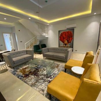 Luxury Furnished Fully Detached 5 Bedroom with Bq, Osapa, Lekki, Lagos, Detached Duplex for Sale