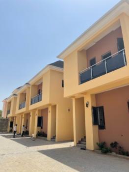 Luxury New 4 Bedrooms Terrace, No Bq. with Gen, 24 Hours Light, Jahi, Abuja, Terraced Duplex for Rent