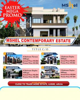 Papers Verifiable, Mshel Estates with Fcda, Lugbe District, Abuja, Residential Land for Sale