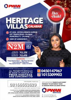 Heritage Villas Estate, Calabar, Cross River, Mixed-use Land for Sale