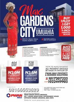 Max Gardens Estate, Umuahia, Abia, Mixed-use Land for Sale