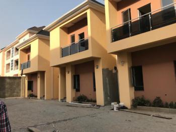 4 Bedrooms Terraced Duplex, Serviced with Gen., Jahi, Abuja, Terraced Duplex for Rent