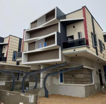 Contemporary Design Smart 4 Bedrooms Semi Detached Duplex with Bq, 2nd Toll Gate Chevron Ikota, Ikota, Lekki, Lagos, Semi-detached Duplex for Sale
