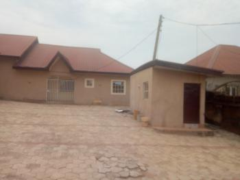 3 Units of 2 Bedroom Flat and 1 Bedroom Flat All in Same Compound for You, Old Redeem Inside Federal Housing Lugbe Estate, Lugbe District, Abuja, Detached Bungalow for Sale
