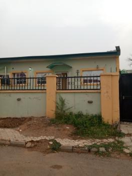Neat 3 Bedrooms Semi Detached Bungalow, Pine Crescent, Sunnyvale Estate, Dakwo, Abuja, Semi-detached Bungalow for Rent