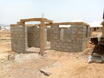Uncompleted 2 Bedroom Bungalow, Agwandogo, Orozo, Abuja, Detached Bungalow for Sale