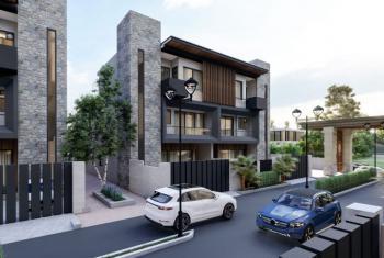 Luxurious Six Bedroom Semi Finished Duplex, After Nnpc Filling Station, Guzape District, Abuja, Semi-detached Duplex for Sale