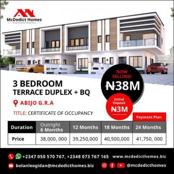 Equisite 3 Bedroom Terrace Duplex +bq, You Deserve a House in G. R. a, Abijo G. R. a, Ajah, Lagos, Terraced Bungalow for Sale