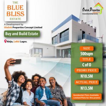 500sqm of Land in a Newly Built Estate, Opposite Eko Akete, Abijo, Lekki, Lagos, Residential Land for Sale