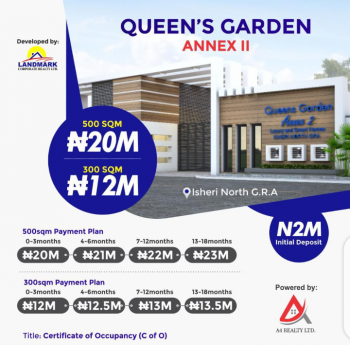Hot Selling Estate Land, 500sqm C of O, Isheri North, Lagos, Mixed-use Land for Sale