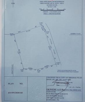 Distress 4 Plots of Land in a Choice Developed Area, Tombia Extension, Gra Phase 3, Port Harcourt, Rivers, Mixed-use Land for Sale
