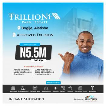 Land, Trillion Park Estate, Alatishe Road, Bogije, Ibeju Lekki, Lagos, Residential Land for Sale