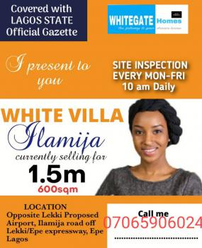 Dry Land with Gazette, Opposite Proposed International Airport, Before Alaro City, Epe, Lagos, Residential Land for Sale