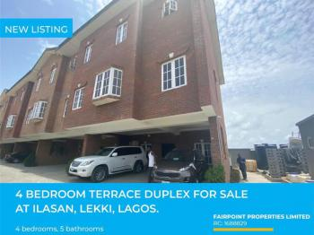 Beautiful and Spacious 4 Bedroom Terrace Duplex, Ikota, Lekki, Lagos, Terraced Duplex for Sale
