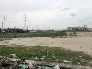a Vast Land Property in an Eye Opening Area (split Plots Is Welcome), Ilasan Bus Stop Beside World Oil Gas Station, Ilasan, Lekki, Lagos, Mixed-use Land for Sale
