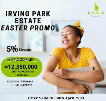 Dry Land with 5% Discount Till April 30th, Oribanwa Bus Stop, Awoyaya, Ibeju Lekki, Lagos, Residential Land for Sale