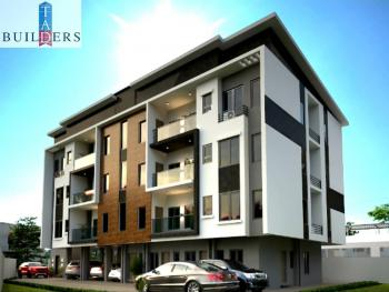 One Unit Left Off Plan 3 Bedrooms Ensuite with Staff Quarter, Yaba, Lagos, Block of Flats for Sale