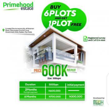 Land, Olorunsogo, Ibadan, Oyo, Residential Land for Sale