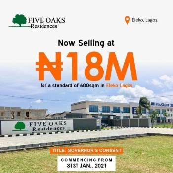 Land in Eleko Before Amen Estate Phase1e, Eleko, Ibeju Lekki, Lagos, Residential Land for Sale