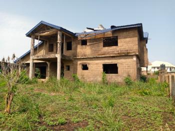 Uncompleted 4 Bedroom Duplex on 3 Plots of Land in a Nice Neighborhood, Lane 5 Prosperity Street, Peluseriki Area  Off Akala Express, Oluyole, Oyo, Detached Duplex for Sale