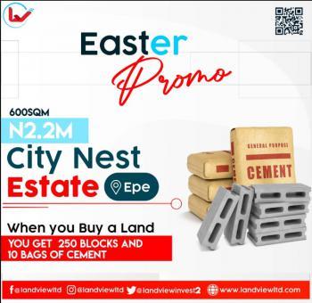 City Nest Estate Poka Epe Lagos, Poka Epe, Close to Atlantic Hall School, Epe, Lagos, Residential Land for Sale