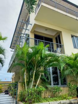 24hr Power, Luxury Furnished & Serviced 4 Bedroom Semi Detached on 3 Levels+bq, Pocal Park Estate, Lekki Phase 1, Lekki, Lagos, Semi-detached Duplex for Rent