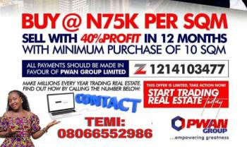 Buy to Sell Offer (earn 40% Roi in 1year), Ogombo, Ajah, Lagos, Mixed-use Land for Sale