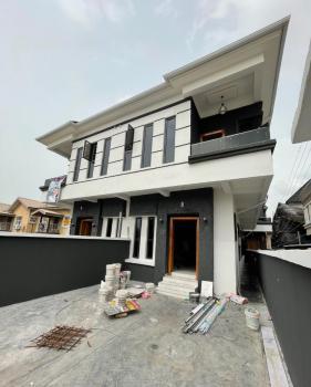Newly Built 4 Bedroom Semi Detached Duplex with a Bq;, Ikota, Lekki, Lagos, Semi-detached Duplex for Sale