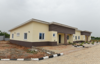 1 Bedroom Semi Detached Bungalow with a Nice View, Mowe Ofada, Ogun, Terraced Bungalow for Sale