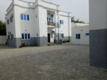 Serviced 6 Bedroom Twin Duplex with 2 Rooms Bq, Generator and Ac., Off Ibb Way, Maitama District, Abuja, Semi-detached Duplex for Rent