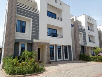 Brand New 4 Bedroom Terrace House with Boys Quarter, Off Aminu Sale Way, Katampe Extension, Katampe, Abuja, Terraced Duplex for Sale